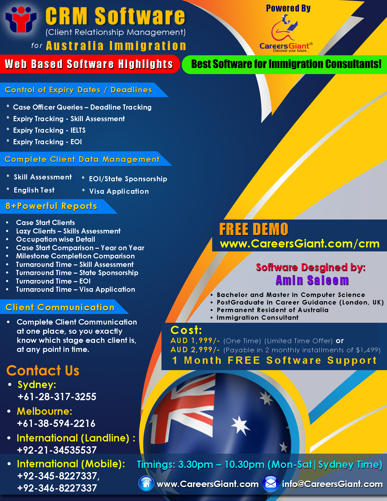 CRM-Software-flyer