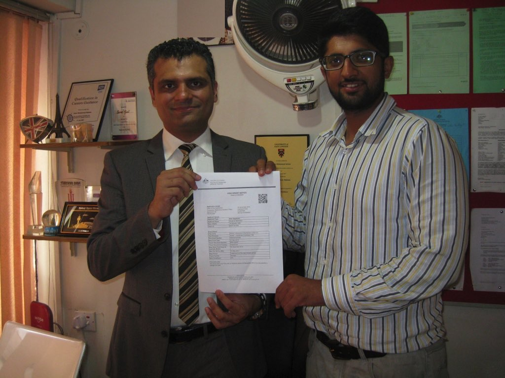 Obaid - Australia Immigration-Visa Grant