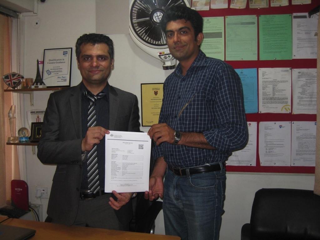 Ramiz Haider - Visa Grant